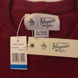 XL men's crew neck sweater- brand new with tags